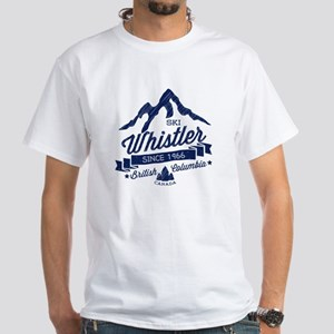 Whistler Mountain Vintage White T-Shirt